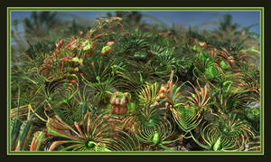 Helleborus Foetidus Mutans by gannjondal