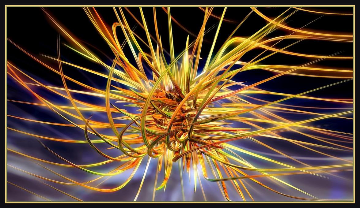 Rushing Sea Urchin by gannjondal