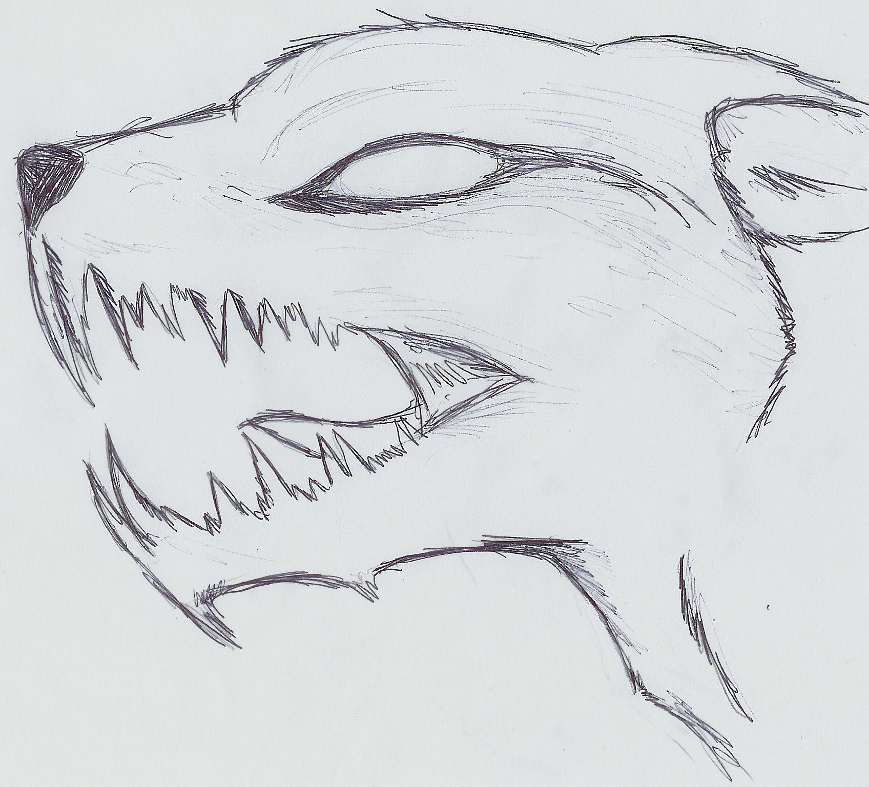 Demon wolf by chrysaetos-pteron on DeviantArt