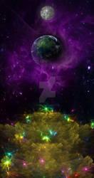 Rainbow Bridge to Earth by ClericalRage