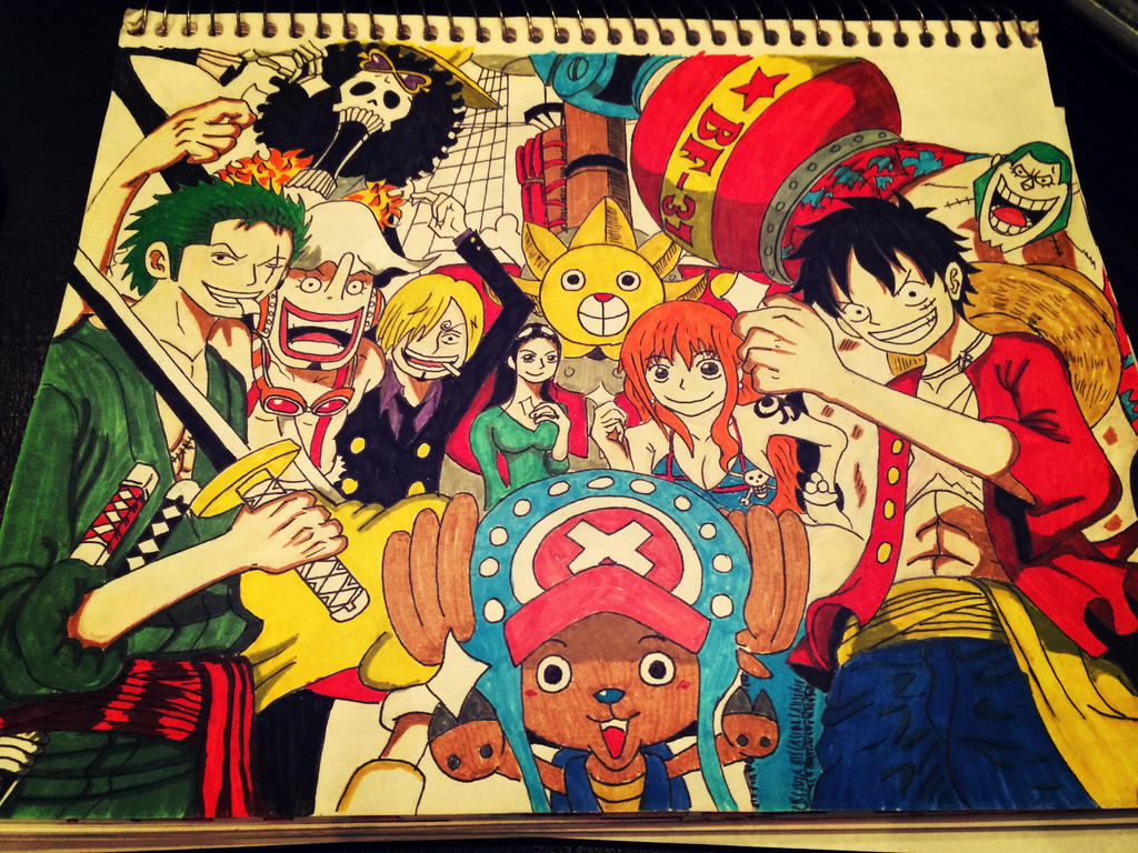 One Piece Characters Luffy Crew   www.imgkid.com - The ...