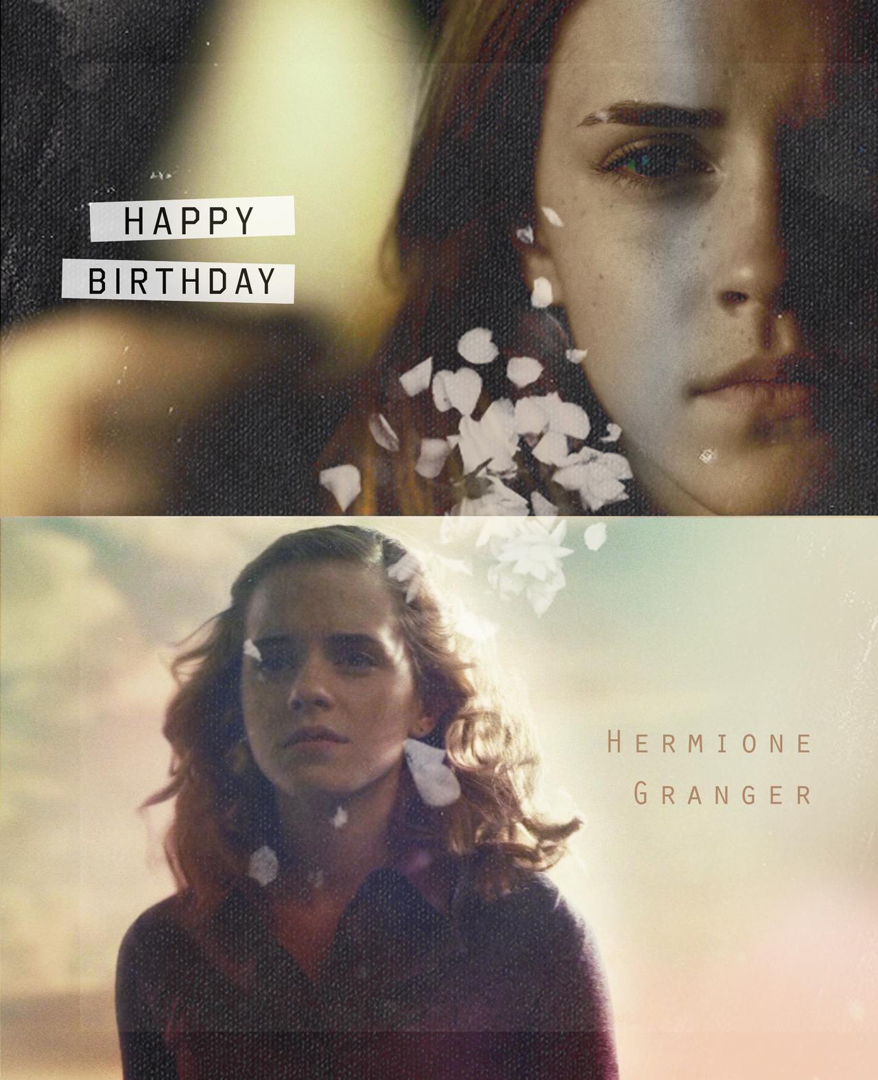 happy birthday hermione by - photo #4