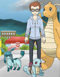 Pokemon Trainer CJ by RayeDarkwater