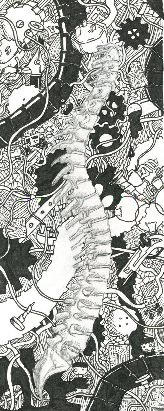 spine doodle reframed by JonnyTheRadford