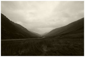 Highland road by Starwid