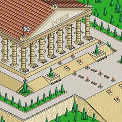 Temple of e-kaki by intercalaire