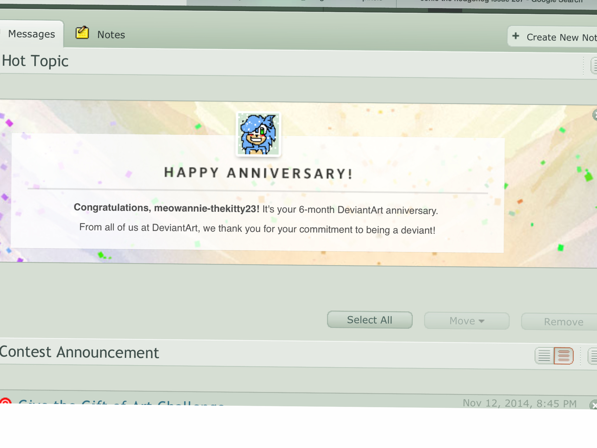 6 Month Anniversary Month Anniversary By Meowannie Thekitty Dbyx
