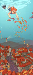 Fishville by kiddhe