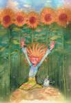 Sunflower-Kissed Skin