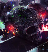 Skull Imagination by ThunderBR