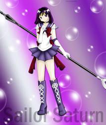 Sailor Saturn by tenshichild