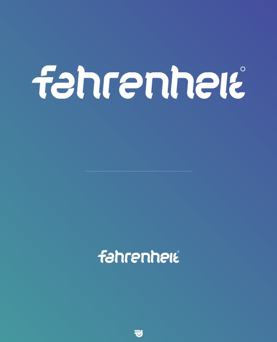 Fahrenheit: Logotype by woweek
