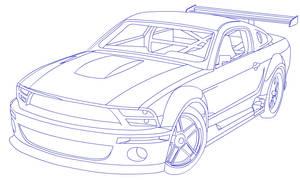 04' Mustang Line