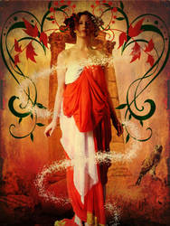 Classical beauty - Mucha by katmary