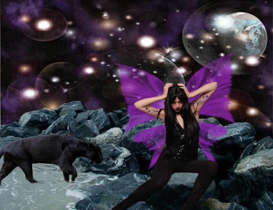 purple fairy by katmary