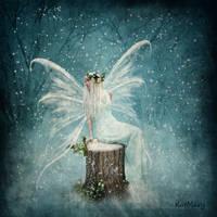 Winter fairy by katmary