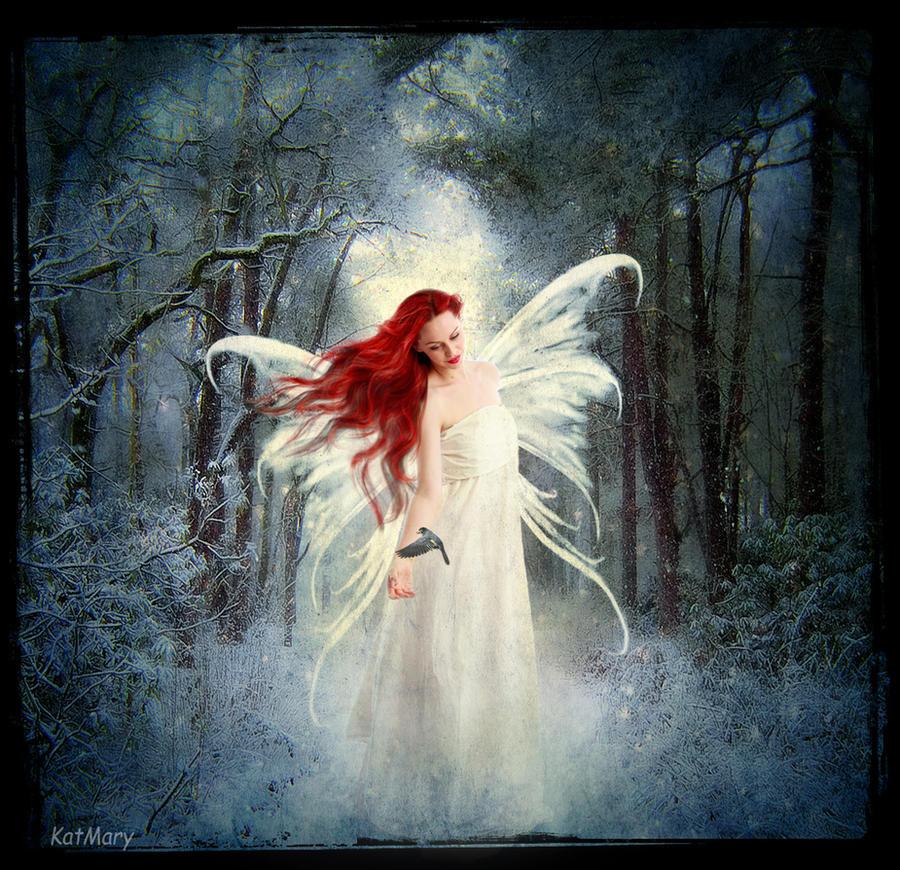 Winter fairy 2 by katmary