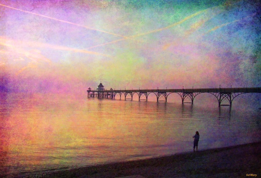 Pastel pier by katmary