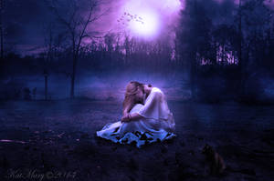 Moonlight solitude by katmary