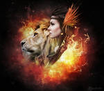 Lion hearted girl