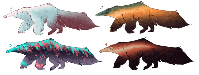 Anteater galaxy adopts / CLOSED
