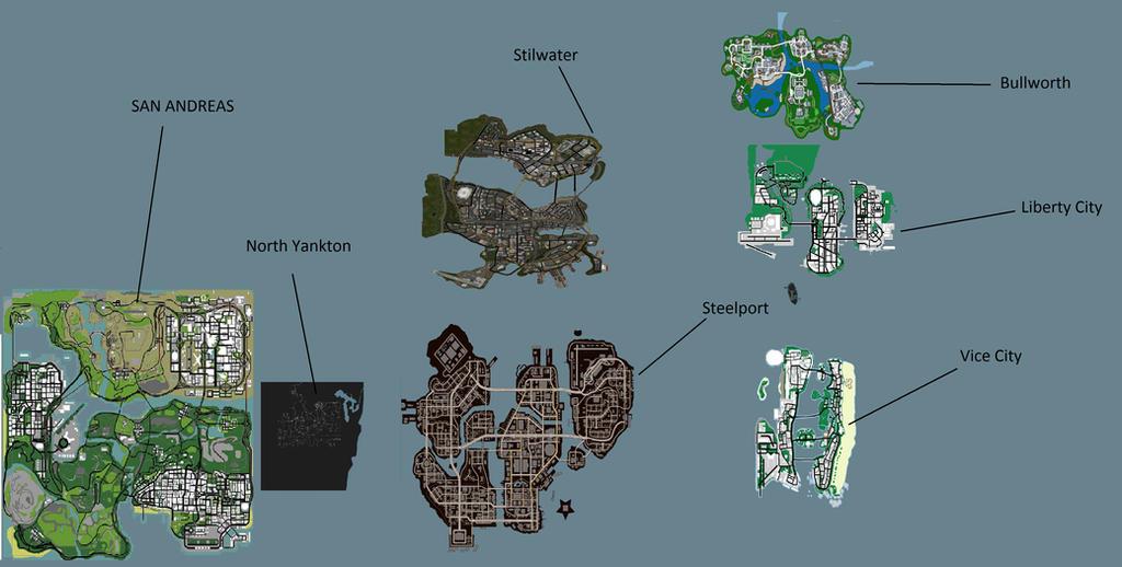 GTA USA Map Concept by Gtafreak554 on DeviantArt
