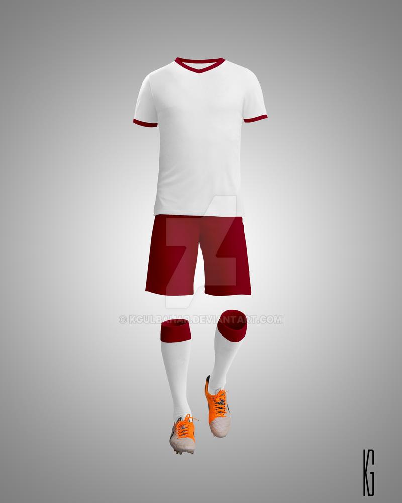 soccer kit mockup by kgulbahar on deviantart