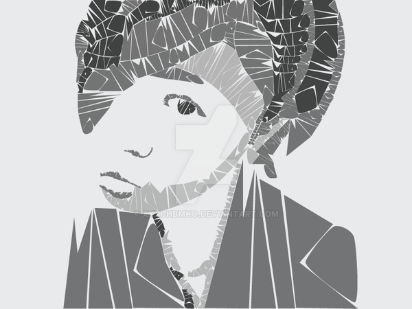 Self Portrait Typography by xxxchbmko