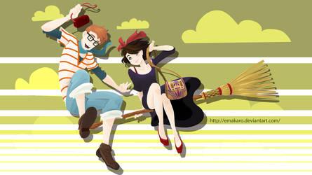 Kiki teenage by Emakaro