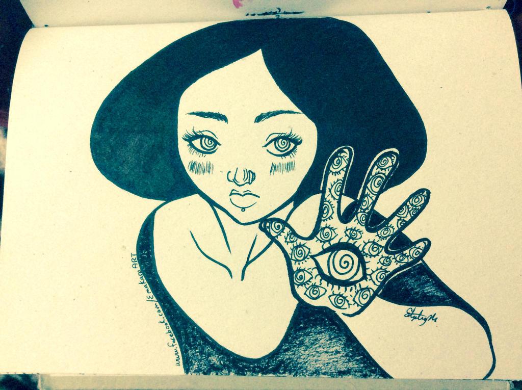 Eye hand by Emakaro
