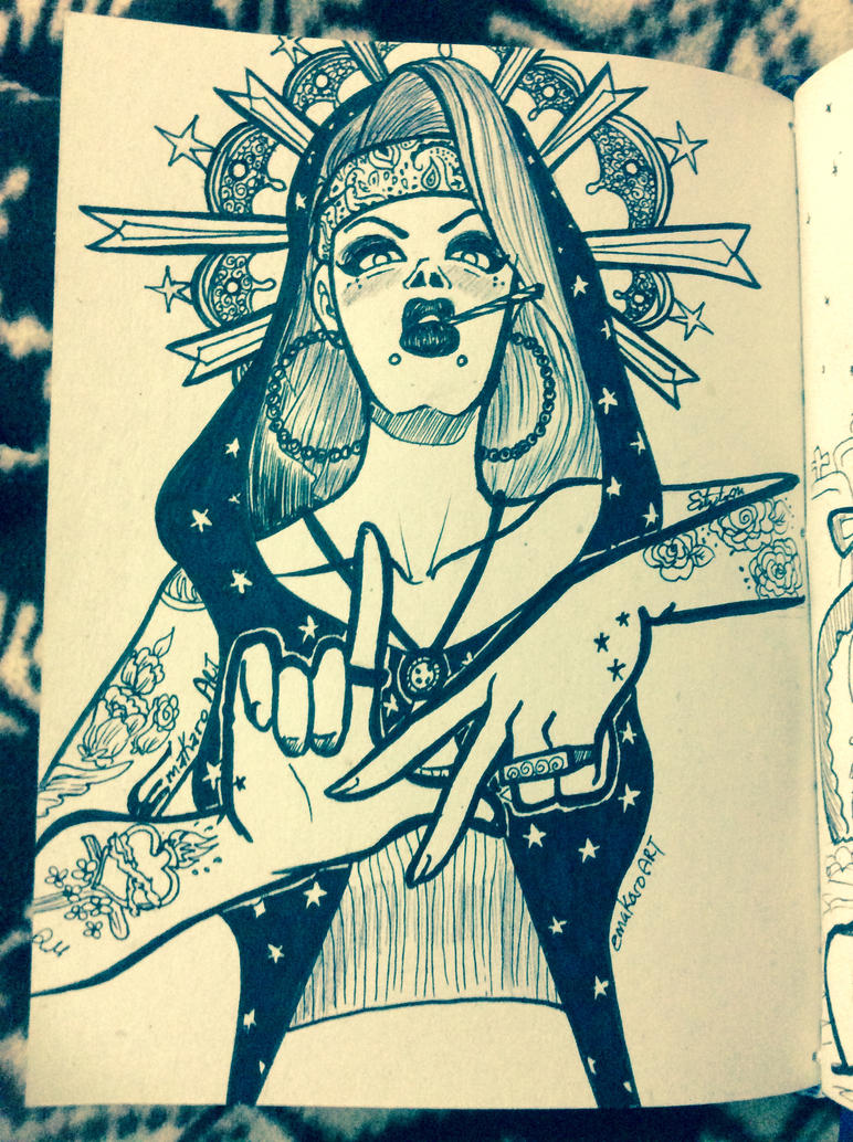 Virgin Marie Chola by Emakaro