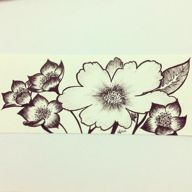 Sunday Flowers by Emakaro