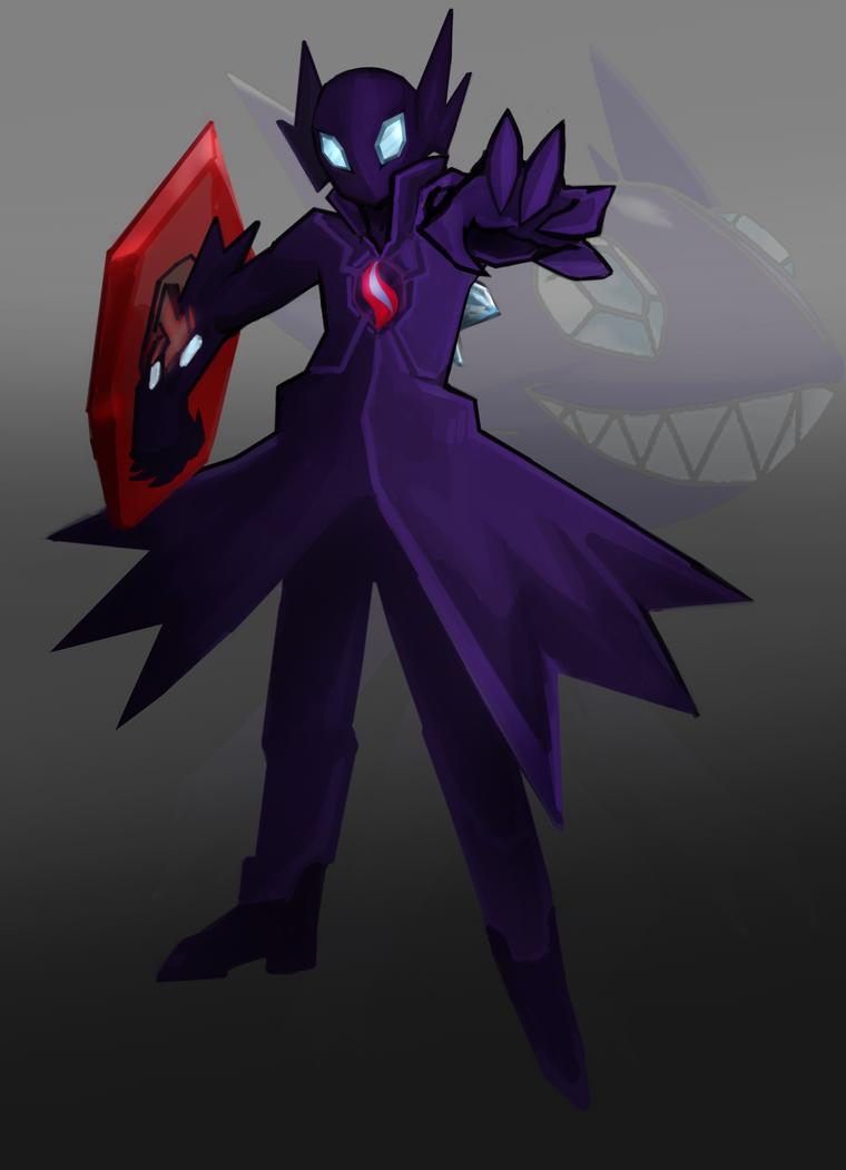 Pokemon Superhero Sableman by raseru09