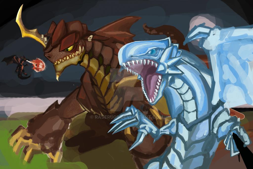 Dragons Selfie WIP by raseru09