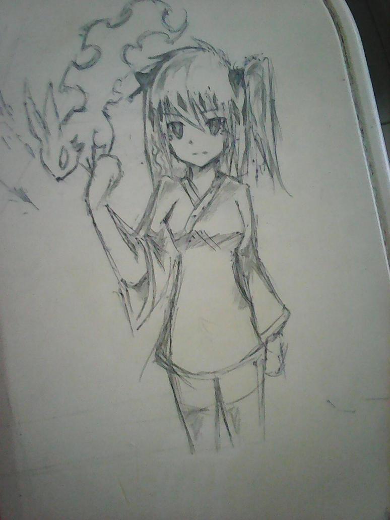Yuki Usagi AKA Ghost Ogre and Snow Rabbit by raseru09