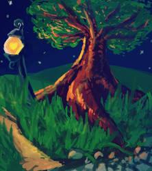 Spooky Tree by raseru09