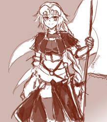 Jeanne D'Arc by raseru09