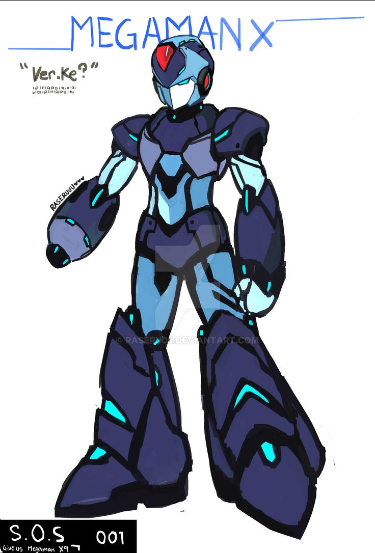 Megaman X verke-2 by raseru09