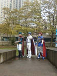 Ike, Marth, and Roy Cosplay