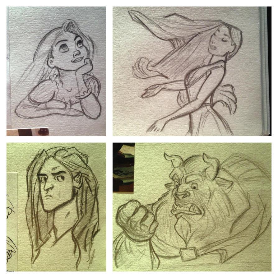 Miscellaneous Disney by Maria18Borodina