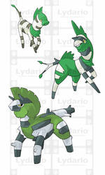 GRASS STARTERS by lydario