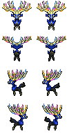 Xerneas Sheet by lydario