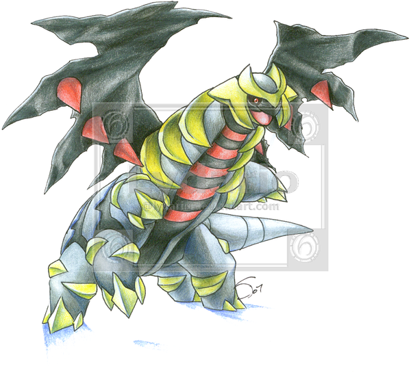 Giratina Drawing