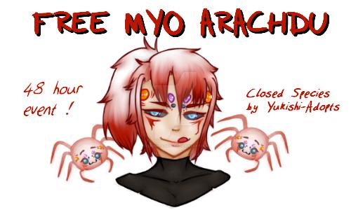 Arachdu Free MYO Event [Closed!] by Yukishi-Adopts