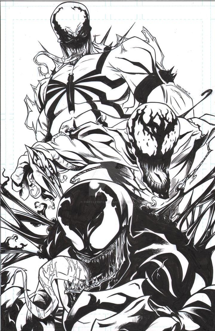 Venom Commission by FireClerk12