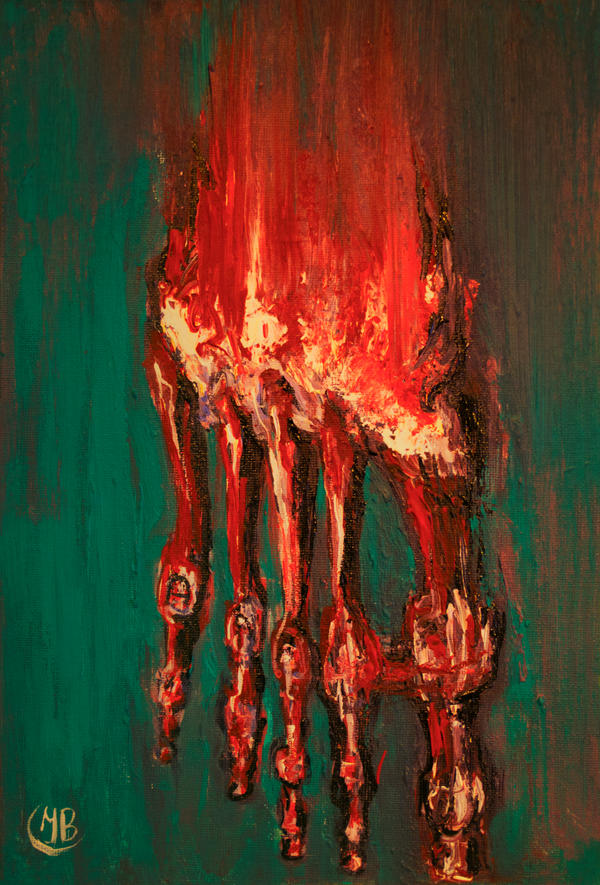 Juicy leg by LilithAbsinthe