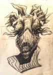 Evil llama by LilithAbsinthe