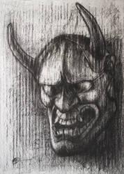 The Hannya mask