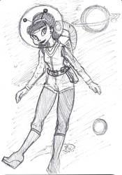 Jane Sketch by In-saneJoker