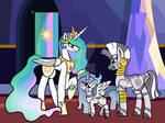 Princess Celestia Family